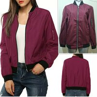 Used Brand new maroon spring ladies jacket S in Dubai, UAE