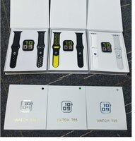 Used T55 smart watch Black colour only in Dubai, UAE