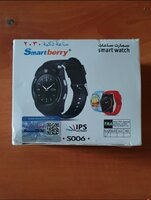 Used New smart watch black. Colour .. in Dubai, UAE