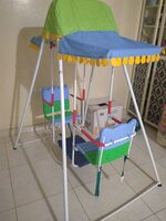 Used Kids double swing in Dubai, UAE