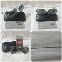 "Used Authentic Rayban Sungglass "" New in Dubai, UAE"