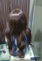 Used Hair wig long and beautiful New in Dubai, UAE
