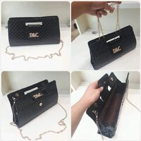 "Used New black D&C sling' bag for women "" in Dubai, UAE"