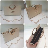 "Used Elegant DIOR sling bag "" brand new in Dubai, UAE"