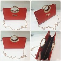 "Used Unique red DIOR sling bag "" brand new "" in Dubai, UAE"