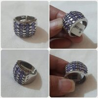 Used Original Silver Ring size- 8-9 in Dubai, UAE