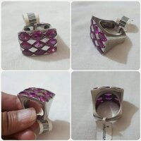 Used Authentic silver Ring size-8 in Dubai, UAE