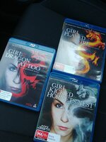Used The girl with the dragon tattoo trilogy in Dubai, UAE