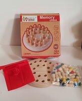 Used Wooden Memory Match Sticks Chess in Dubai, UAE