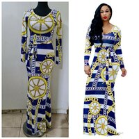 Used Brand new maxi printed dress size S in Dubai, UAE