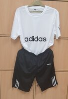 Used Adidas T‐shirt and Shorts for him ! in Dubai, UAE