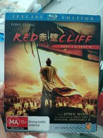 Used Red Cliff part 1 and 2 Bluray movie in Dubai, UAE