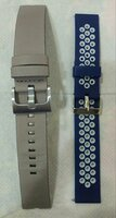 Used Leather& Silicone Strap 4 Smart+Analog in Dubai, UAE