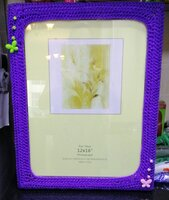 Used Super idea Photo frame crochet Handmade in Dubai, UAE