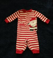 Used Christmas bodysuit size 3-6 months in Dubai, UAE