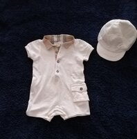 Used Original Burberry set size 6 months in Dubai, UAE
