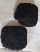 Used High puff women ponytail 2 pcs in Dubai, UAE