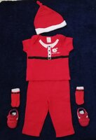 Used Santa's little helper size 6-12 months in Dubai, UAE