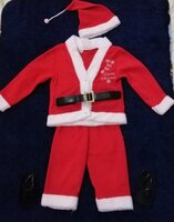 Used Santa costume size 24 months in Dubai, UAE