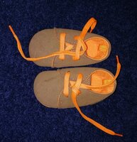 Used Baby shoes 3 - 9  months in Dubai, UAE