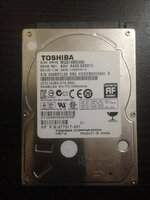 Used Toshiba Hard Drive for Laptops 500GB in Dubai, UAE