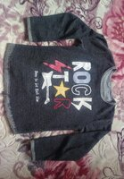 Used Rock star shirt for boys nice material in Dubai, UAE