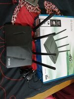 Used D-Link 4G Router And Charger in Dubai, UAE