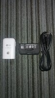 Used LG Fast Charger + Type C+micro usb cable in Dubai, UAE