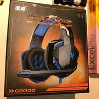 Used G2000 gaming headset great day in Dubai, UAE
