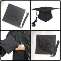 Used Unisex graduation adult hat with tassel in Dubai, UAE