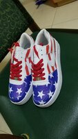 Used Nike shoe, u.s flag design, size 43 in Dubai, UAE