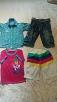 Used Very nice cotton clothes for boys4-6 yea in Dubai, UAE