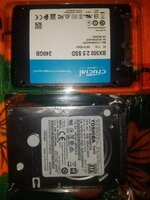 Used 1 new ssd 240 gb 1 new 1 Tb toshiba  lap in Dubai, UAE