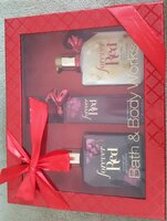 Used Bath and Body Works (Forever Red) Gift in Dubai, UAE