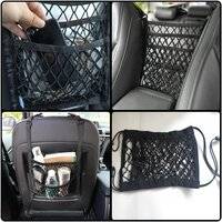 Used Universal elastic mesh net car bag in Dubai, UAE