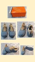 Used Breathable safety shoes blue (46) in Dubai, UAE