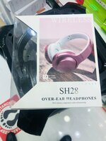Used Black sh28 headphone in Dubai, UAE