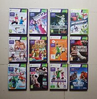 Used 12 kinect games for Xbox 360 in Dubai, UAE