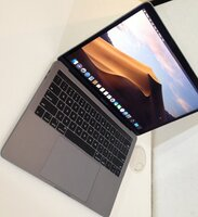 Used Macbook pro core i5 touch bar retina in Dubai, UAE