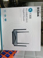 Used D Link wifi router AC1300 in Dubai, UAE