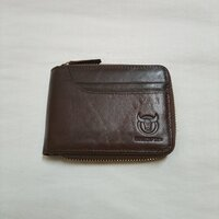 Used RFID Zip Around Wallet Brown in Dubai, UAE