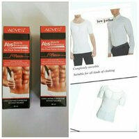 Used Muscle Cream 2pcs + Mens Muscle Shirt in Dubai, UAE