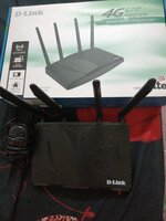Used D-Link 4G Router and Charger with in Box in Dubai, UAE