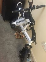 Used electric bike foldable and portable in Dubai, UAE