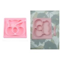 Used Silicone Baby Plate,Cute Animal Bear Sha in Dubai, UAE