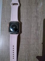 Used Apple watch series 5 gold + screen cover in Dubai, UAE
