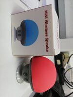 Used Mini Bluetooth speaker plus mobile holde in Dubai, UAE