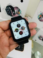 Used W26Plus SMART WATCH BLACK ELE1 in Dubai, UAE