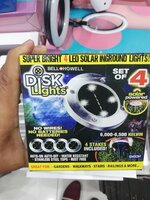 Used Solar light for garden.. Set of 4 pc in Dubai, UAE