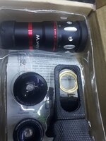 Used Camera lens for phone .. in Dubai, UAE